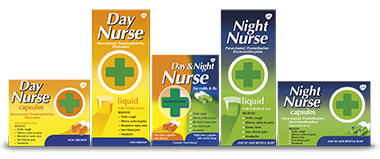The Day and Night Nurse range